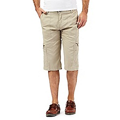 Maine New England - Big and tall beige bedford shorts