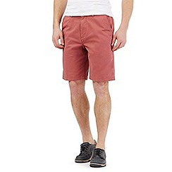 Maine New England - Big and tall dark peach chino shorts