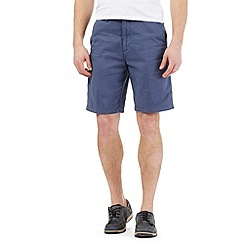 Maine New England - Big and tall mid blue chino shorts