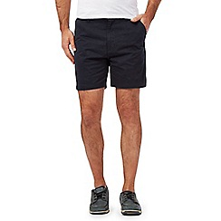 Maine New England - Big and tall navy chino shorts