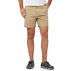 Maine New England - Big and tall beige chino shorts