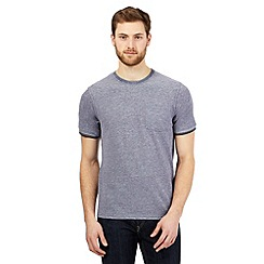 Maine New England - Navy textured t-shirt