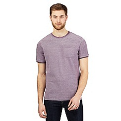 Maine New England - Purple textured t-shirt