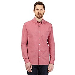 Maine New England - Big and tall red button down collar shirt