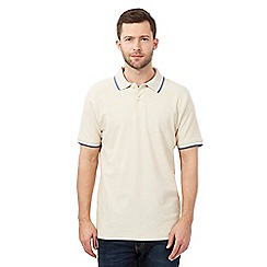 Maine New England - Big and tall beige polo shirt