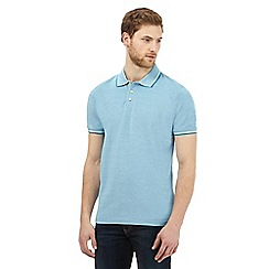 Maine New England - Big and tall blue birdseye polo shirt