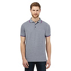 Maine New England - Big and tall grey tipped polo shirt