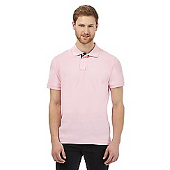 Maine New England - Big and tall light pink polo shirt