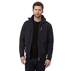 Maine New England - Big and tall navy shower resistant jacket