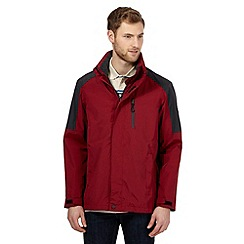 Maine New England - Big and tall red breathable waterproof jacket