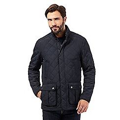 Maine New England - Big and tall navy quilted jacket