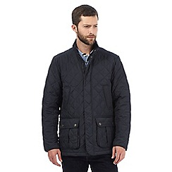 Maine New England - Navy lightweight quilted jacket