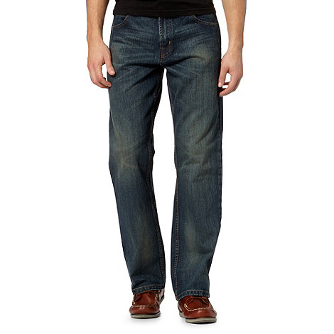 Maine New England - Dark blue regular leg jeans