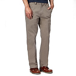 Maine New England - Big and tall grey classic chinos