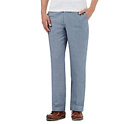 Maine New England - Blue tailored fit trousers