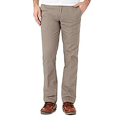 Maine New England - Big and tall grey slim fit chinos