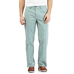 Maine New England - Big and tall light green tailored chinos
