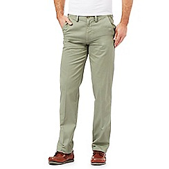 Maine New England - Green tailored chinos