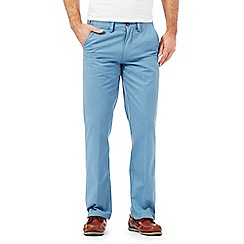 Maine New England - Big and tall light blue tailored chinos