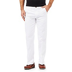 Maine New England - White tailored chinos