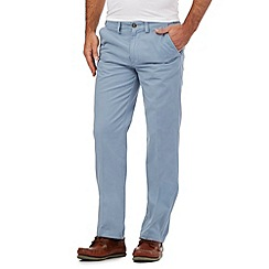 Maine New England - Pale blue tailored fit chinos