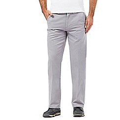 Maine New England - Big and tall pale grey chinos