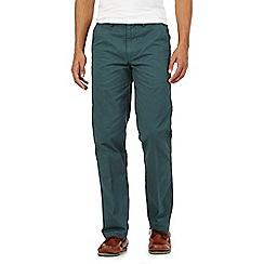 Maine New England - Dark green tailored fit chinos