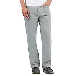 Maine New England - Pale grey five pocket trousers