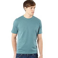 Maine New England - Big and tall dark turquoise crew neck t-shirt