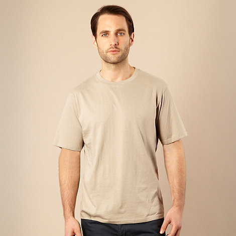 Maine New England - Big and tall natural crew neck t-shirt