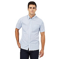 Maine New England - Big and tall blue striped shirt