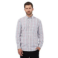 Maine New England - Big and tall multi-coloured grindle checked print shirt