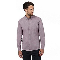 Maine New England - Big and tall light purple marl long sleeved shirt