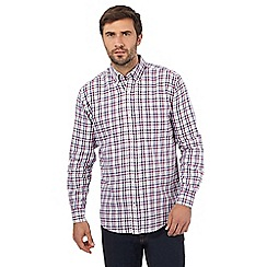 Maine New England - Multi-coloured gingham print shirt