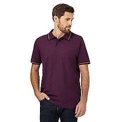 Maine New England - Purple twin tipped polo shirt