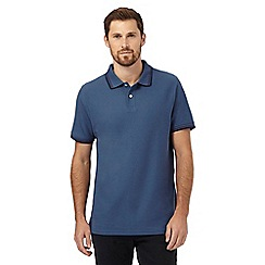 Maine New England - Blue twin tipped polo shirt
