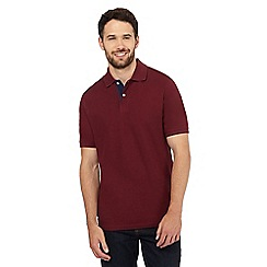 Maine New England - Dark red polo shirt