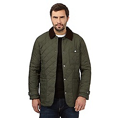 Maine New England - Dark green quilted jacket