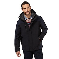 Maine New England - Black waterproof performance coat