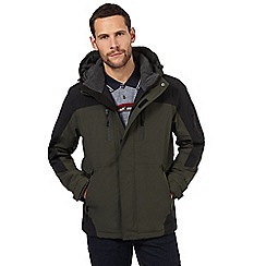 Maine New England - Dark green waterproof jacket