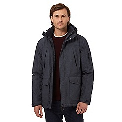 Maine New England - Big and tall grey waterproof coat
