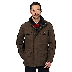Maine New England - Khaki six pocket coat
