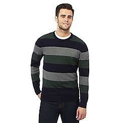 Maine New England - Multi-coloured striped print jumper