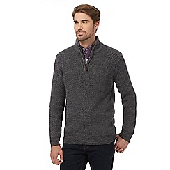 Maine New England - Grey chunky jumper