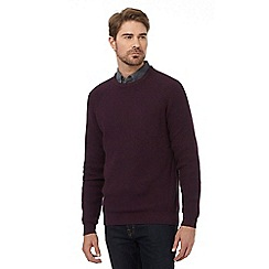 Maine New England - Dark red chunky jumper