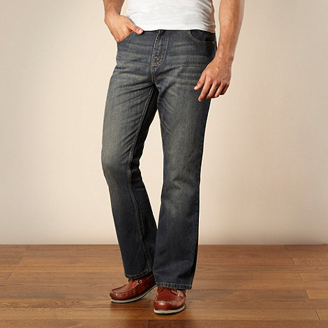 Maine New England - Dark blue bootcut jeans