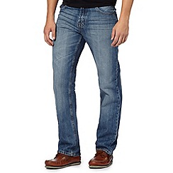 Maine New England - Big and tall blue regular leg jeans