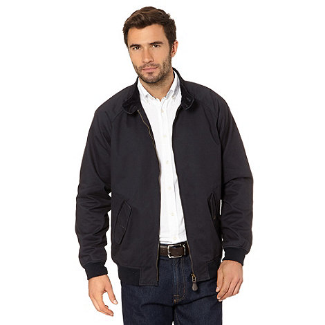Maine New England - Big and tall navy Raglan Harrington Jacket