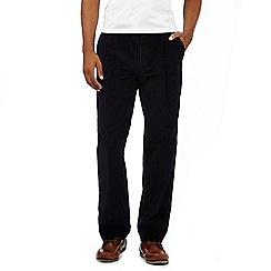 Maine New England - Navy cord active waistband trousers