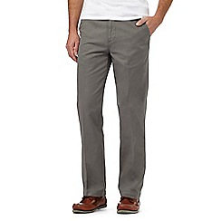 Maine New England - Grey flat front chinos